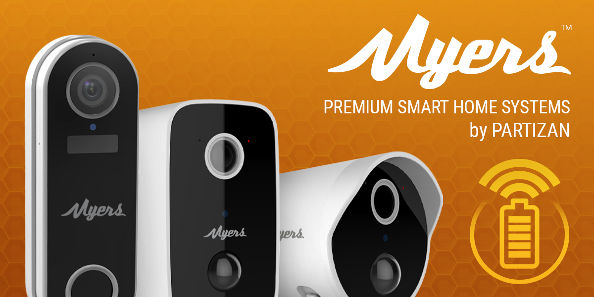 Get rid of wires: IP CCTV cameras and MYERS doorbells for a smart home